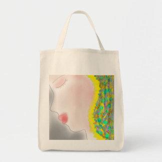 Sketch美しい女性 トートバッグ