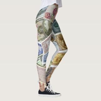 SKILLHAUSE -世界のお金 レギンス
