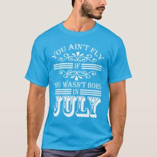 SKILLHAUSE -手紙7月v2 (白い)のはえ Tシャツ