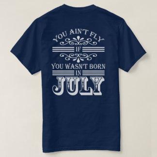 SKILLHAUSE - 7月(白い手紙)のはえ Tシャツ