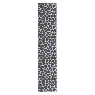 SKIN1黒い大理石及び白い大理石(R) ショートテーブルランナー