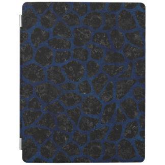 SKIN1黒い大理石及び青くグランジな(R) iPadスマートカバー