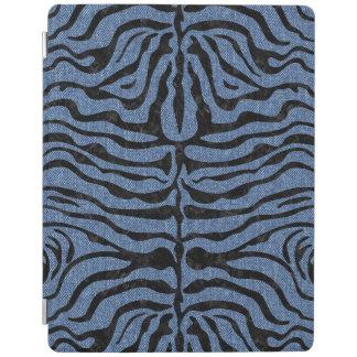 SKIN2黒い大理石及び青いデニム(R) iPadスマートカバー