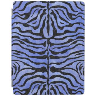 SKIN2黒い大理石及び青い水彩画(R) iPadスマートカバー