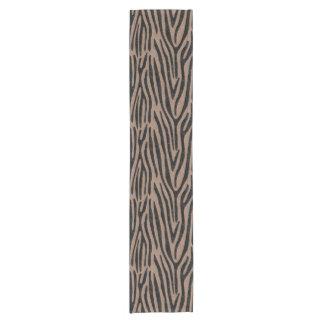 SKIN4黒い大理石及びブラウンによって着色される鉛筆 ショートテーブルランナー