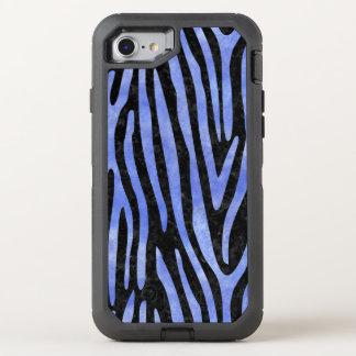 SKIN4黒い大理石及び青い水彩画(R) オッターボックスディフェンダーiPhone 8/7 ケース