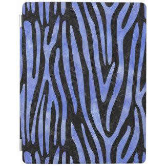 SKIN4黒い大理石及び青い水彩画(R) iPadスマートカバー