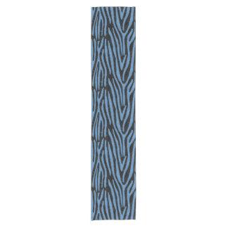 SKIN4黒い大理石及び青は鉛筆(R)を着色しました ショートテーブルランナー