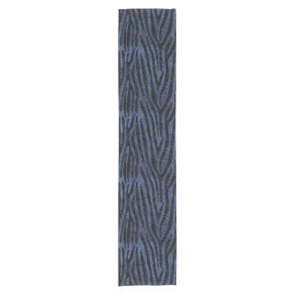SKIN4黒い大理石及び青石 ショートテーブルランナー