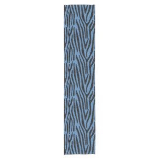SKIN4黒い大理石及び青鉛筆 ショートテーブルランナー