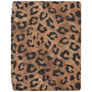 SKIN5黒い大理石及びブラウンの石 iPadスマートカバー