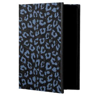 SKIN5黒い大理石及び青いデニム(R) POWIS iPad AIR 2 ケース