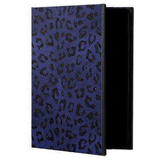 SKIN5黒い大理石及び青い革 POWIS iPad AIR 2 ケース