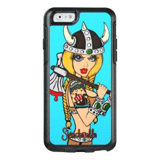 Skindella iPhone6のカワウソ箱の箱によるバイキングの女の子、 オッターボックスiPhone 6/6sケース