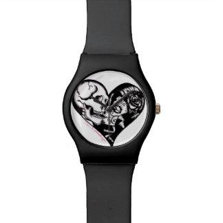 """Skinderella -腕時計著""""ハートキス""""の 腕時計"""