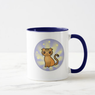 Skippy驚異猫の信号器のマグ マグカップ