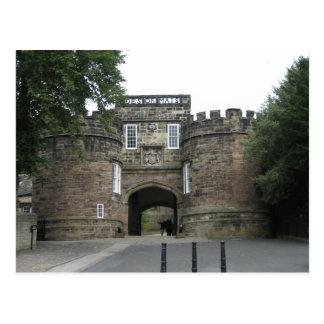 Skiptonの城、ヨークシャ ポストカード