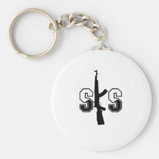 SKSの突撃銃のロゴの黒 キーホルダー