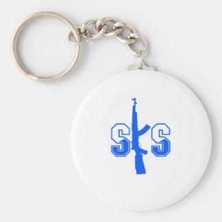 SKSの突撃銃のロゴBlue.png キーホルダー