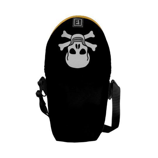 skull 02 メッセンジャーバッグ