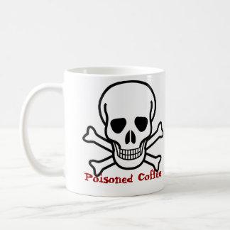 skull_and_crossbones_large、毒されたコーヒー コーヒーマグカップ