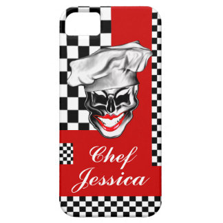 Skull Chef女性 iPhone 5 Cover