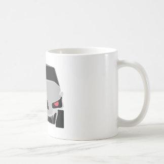 Skulled車のデザイン コーヒーマグカップ