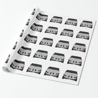 Skulled車のデザイン ラッピングペーパー