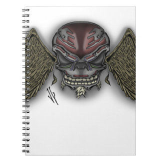 skullwings ノートブック