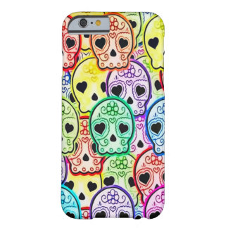 Skullyのスカルの女の子愛 Barely There iPhone 6 ケース