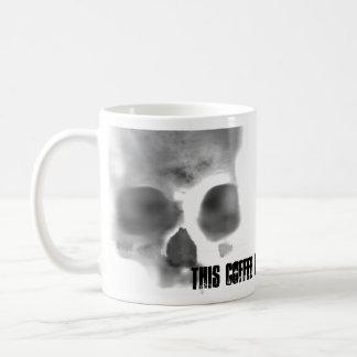 Skully上のSchwag コーヒーマグカップ