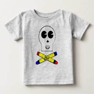 Skully Jr.のワイシャツ ベビーTシャツ