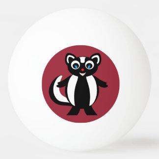 Skunk氏 卓球ボール