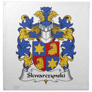 Skwarczynskiの家紋 ナプキンクロス