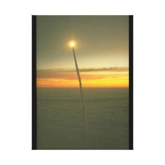 sky_Spaceのシャトルの道 キャンバスプリント