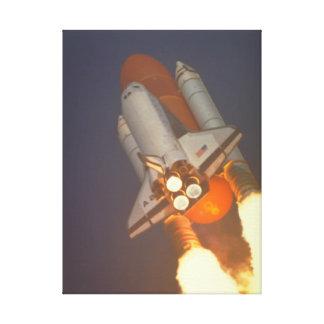 sky_Spaceのシャトル キャンバスプリント