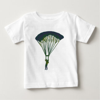 SKYDIVEの緑の地平線 ベビーTシャツ