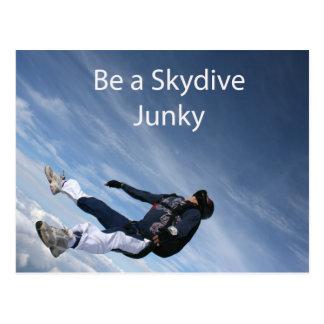 Skydiveの麻薬常習者 ポストカード