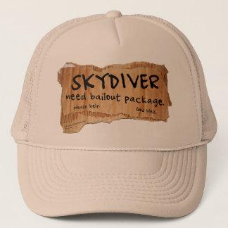 SKYDIVERの必要性の脱出パッケージ キャップ