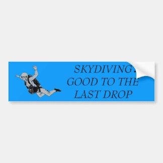 skydiver、   最後の低下によいSKYDIVING: バンパーステッカー