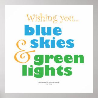 Skydiversの願い ポスター
