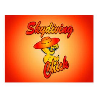 Skydivingのひよこ#5 ポストカード