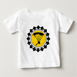 SKYDIVINGの事実 ベビーTシャツ