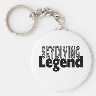 Skydivingの伝説 キーホルダー