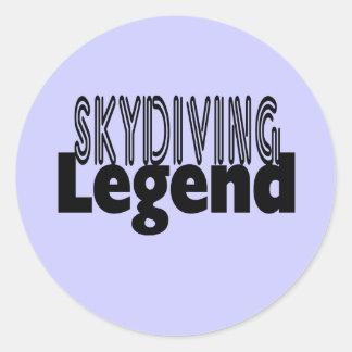 Skydivingの伝説 ラウンドシール