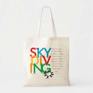 Skydivingの欲求 トートバッグ