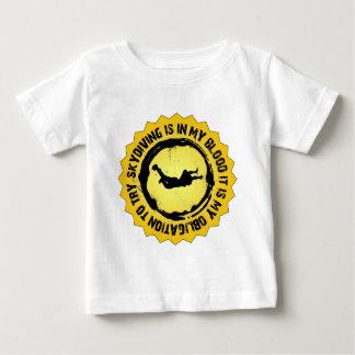 Skydivingの素晴らしいシール ベビーTシャツ