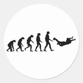 Skydivingの進化 ラウンドシール
