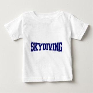 Skydiving大学スタイル ベビーTシャツ