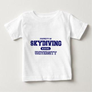 Skydiving大学 ベビーTシャツ